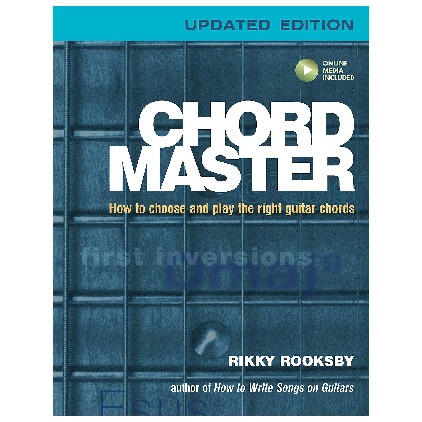 Backbeat Books Chord Master Book Series Softcover Audio Online Written by Rikky Rooksby