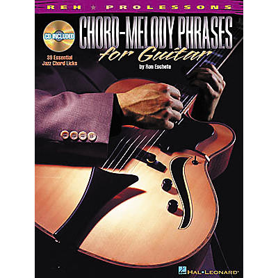 REH Chord-Melody Phrases for Guitar (Book/CD)