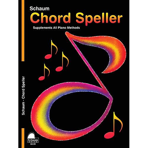 SCHAUM Chord Speller Educational Piano Book (Level 5)