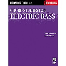 Hal Leonard Chord Studies for Electric Bass Book