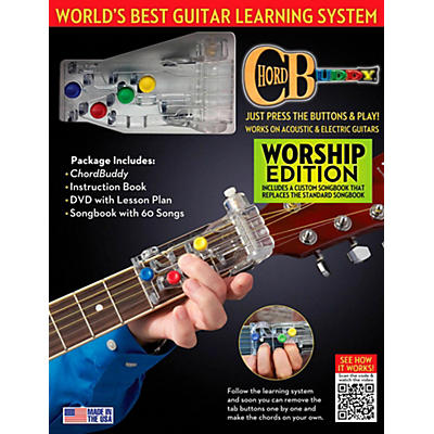 Perry's Music ChordBuddy Guitar Learning System  Worship Edition