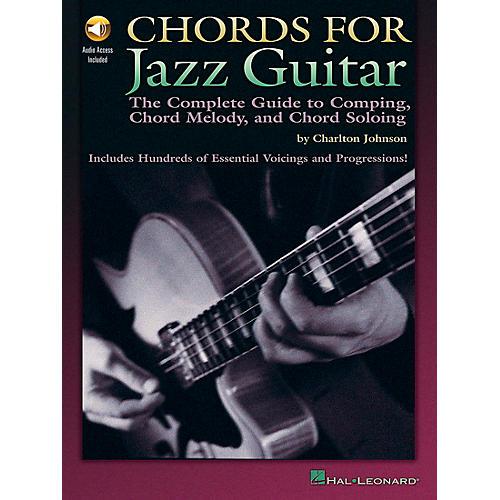 hal leonard chords for jazz guitar book cd musician 39 s friend. Black Bedroom Furniture Sets. Home Design Ideas