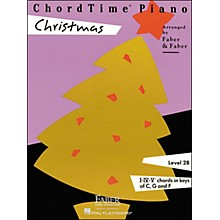 Faber Piano Adventures Chordtime Piano Christmas Level 2B - Faber Piano
