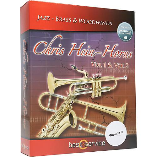 Best Service Chris Hein Horns Vol. 2 Section Horns Sample Library