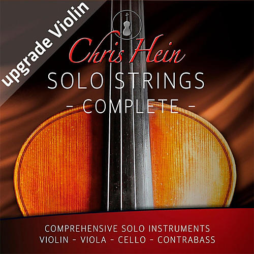 Best Service Chris Hein Solo Strings Complete Upgrade from Violin