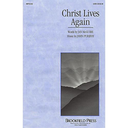 Hal Leonard Christ Lives Again SATB composed by John Purifoy