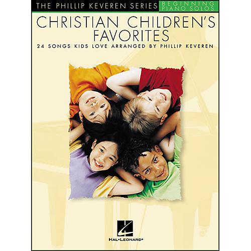 Hal Leonard Christian Children's Favorites - The Phillip Keveren Series Beginning Piano Solos