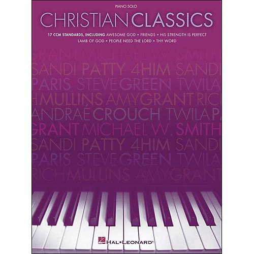 Hal Leonard Christian Classics Piano Solo