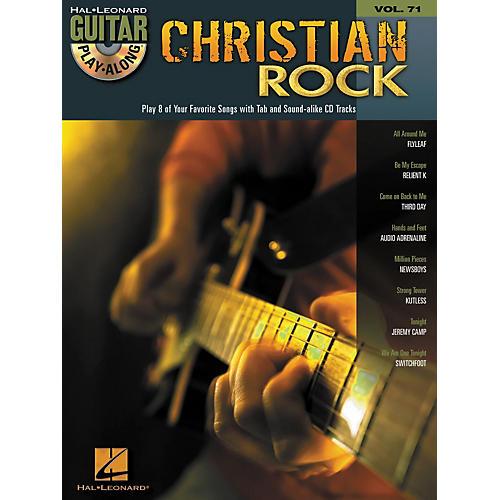 Hal Leonard Christian Rock Guitar Play-Along Volume 71 Book/CD