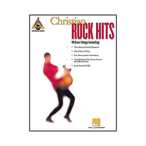 Hal Leonard Christian Rock Hits Guitar Tab Book