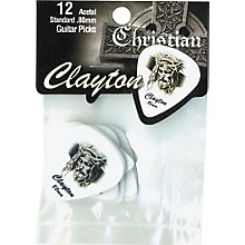 Clayton Christian Standard Guitar Picks 1 Dozen