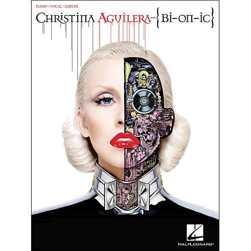 Hal Leonard Christina Aguilera - Bionic PVG Songbook