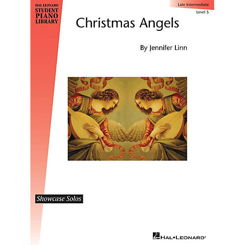 Hal Leonard Christmas Angels Piano Library Series by Jennifer Linn (Level Inter)