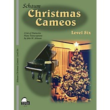 SCHAUM Christmas Cameos (Level 6 Early Advanced Level) Educational Piano Book