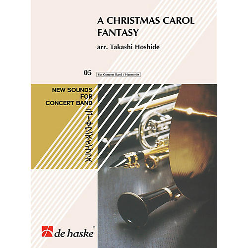 Hal Leonard Christmas Carol Fantasy, A Score Only Concert Band