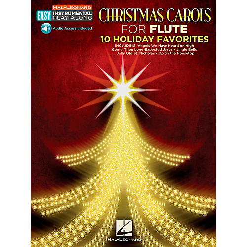 Hal Leonard Christmas Carols - Flute - Easy Instrumental Play-Along (Audio Online)