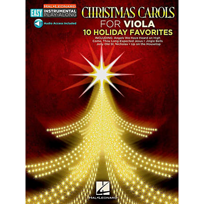 Hal Leonard Christmas Carols - Viola - Easy Instrumental Play-Along (Audio Online)
