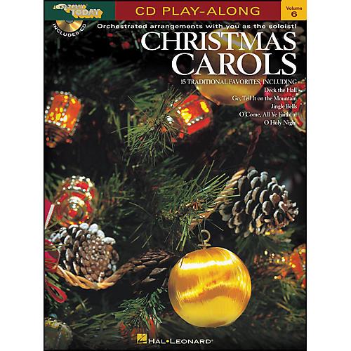Hal Leonard Christmas Carols E-Z Play Today CD Play Along Volume 6 Book/CD