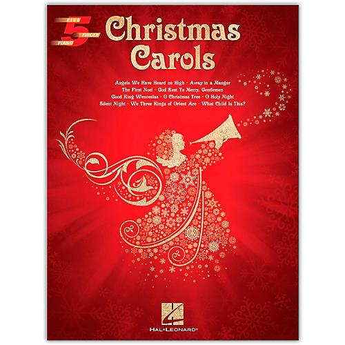 Hal Leonard Christmas Carols Five-Finger Piano Songbook