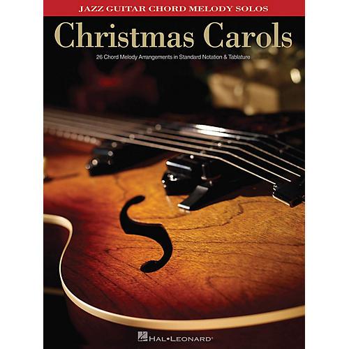 Hal Leonard Christmas Carols (Jazz Guitar Chord Melody Solos) Guitar Solo Series Softcover