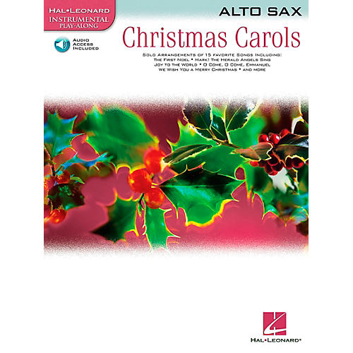 Hal Leonard Christmas Carols for Alto Sax Book/CD