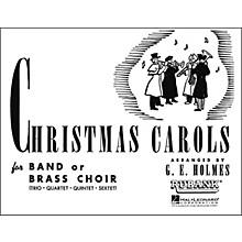Hal Leonard Christmas Carols for Band Or Brass Choir Bass Clarinet