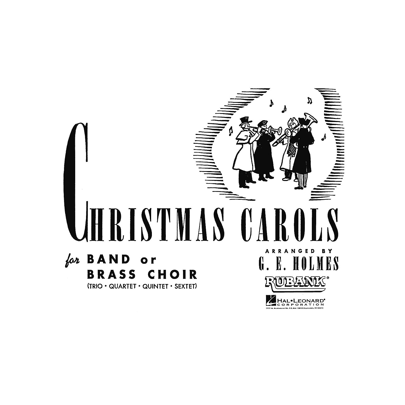 Rubank Publications Christmas Carols for Band or Brass Choir (3rd Part Eb Horn) Concert Band Level 2-3