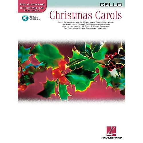 Hal Leonard Christmas Carols for Cello Book/Online Audio
