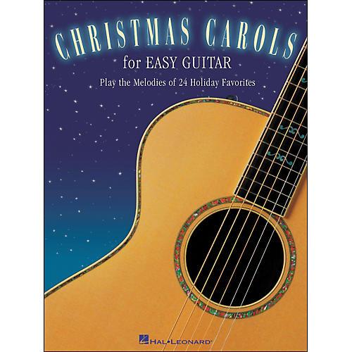 Hal Leonard Christmas Carols for Easy Guitar (No Tab)