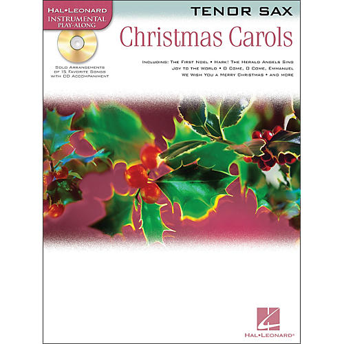 Hal Leonard Christmas Carols for Tenor Sax Book/CD