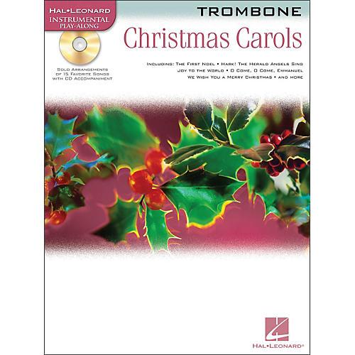 Hal Leonard Christmas Carols for Trombone Book/CD