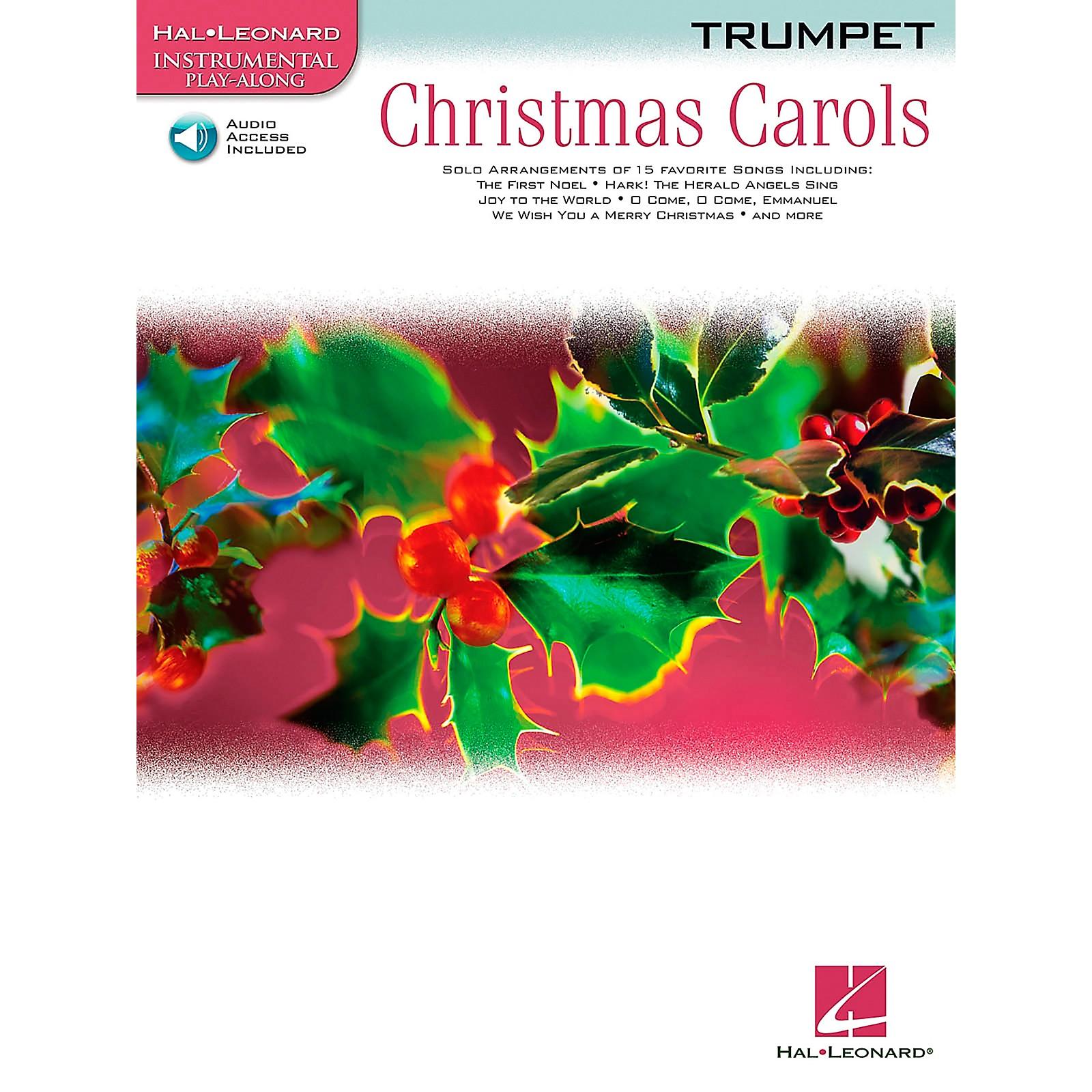 Hal Leonard Christmas Carols for Trumpet Book/CD