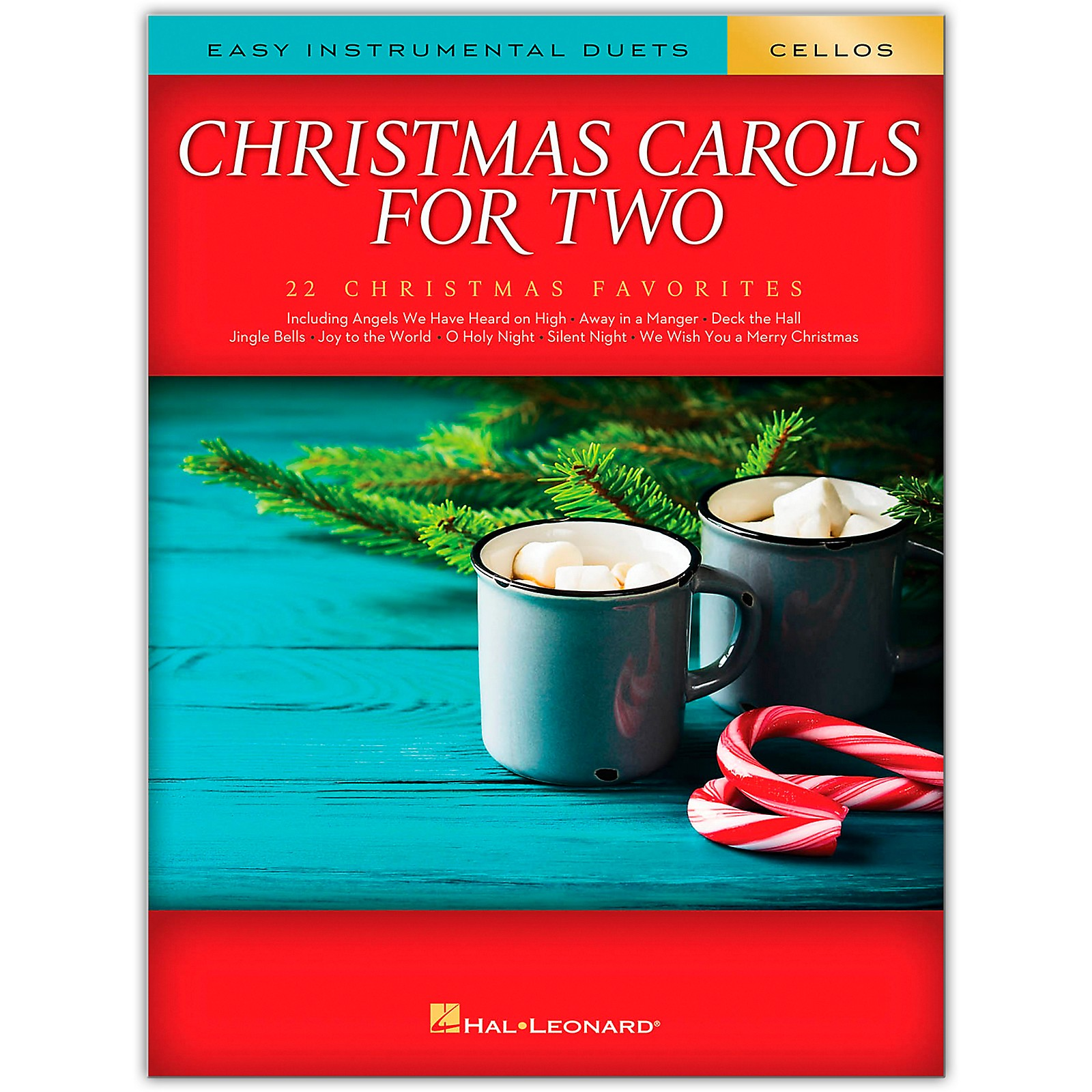 Hal Leonard Christmas Carols for Two Cellos (Easy Instrumental Duets) Songbook