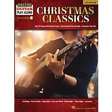 Hal Leonard Christmas Classics Deluxe Guitar Play-Along Volume 19 Book/Audio Online