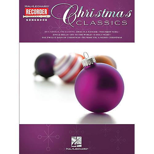 Hal Leonard Christmas Classics (Hal Leonard Recorder Songbook) Recorder Series Softcover