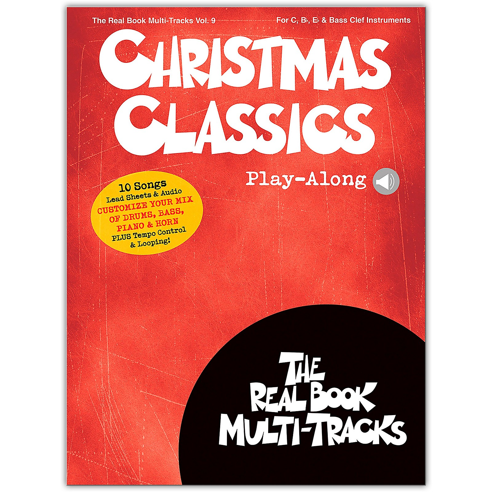 Hal Leonard Christmas Classics Play-Along Real Book Multi-Tracks Volume 9 Book/Audio Online