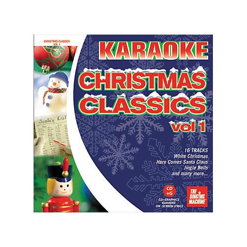 The Singing Machine Christmas Classics Volume 1 Karaoke CD+G