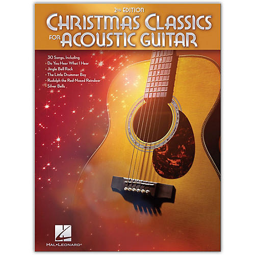 Hal Leonard Christmas Classics for Acoustic Guitar - 2nd Edition Guitar Collection Songbook
