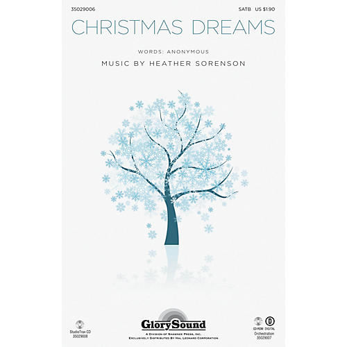 Shawnee Press Christmas Dreams Studiotrax CD Composed by Heather Sorenson