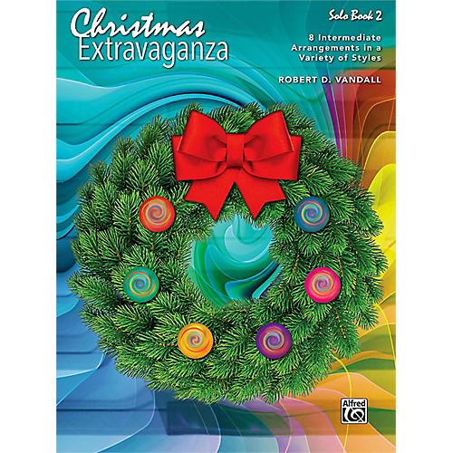 Alfred Christmas Extravaganza, Book 2 Intermediate
