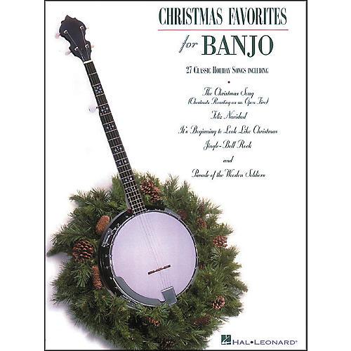 Hal Leonard Christmas Favorites Tab Songbook for Banjo