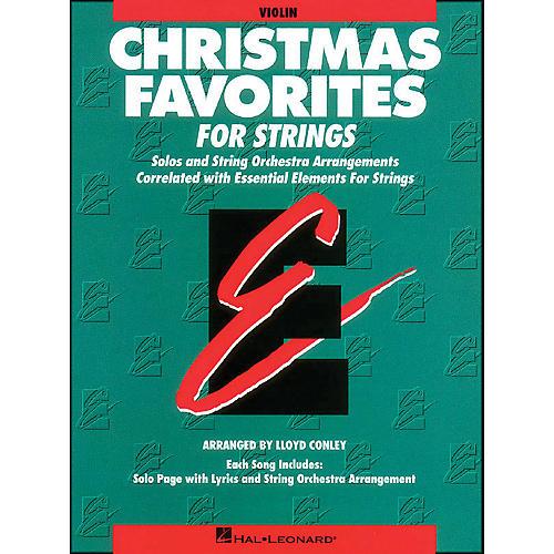 Hal Leonard Christmas Favorites Violin Essential Elements