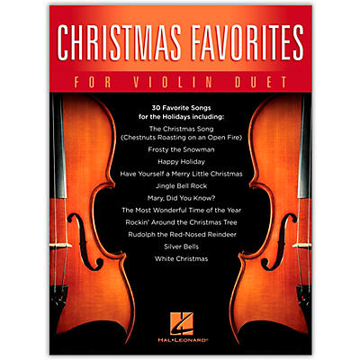 Hal Leonard Christmas Favorites for Violin Duet Songbook