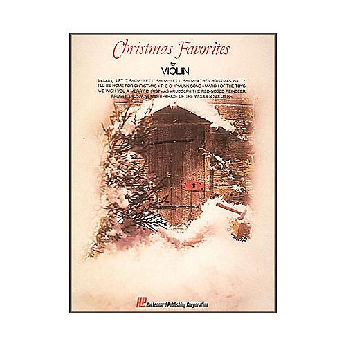 Hal Leonard Christmas Favorites for Violin