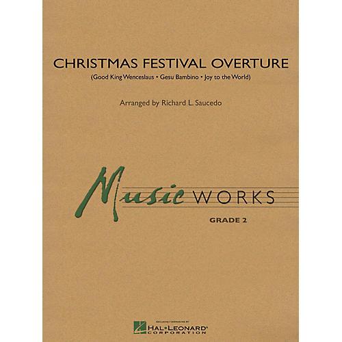 Hal Leonard Christmas Festival Overture Concert Band Level 2 Arranged by Richard L. Saucedo