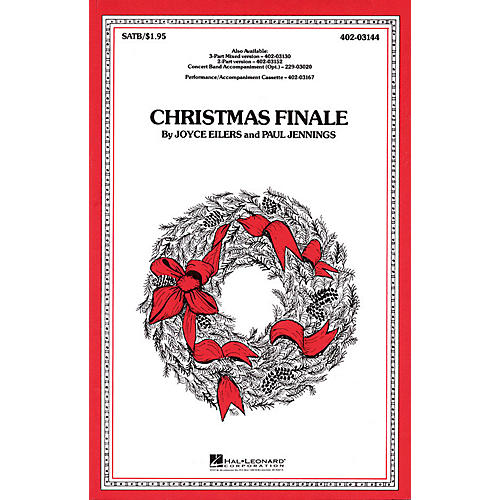 Hal Leonard Christmas Finale 3-Part Mixed Arranged by Paul Jennings