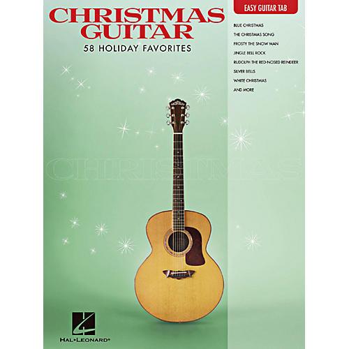 Hal Leonard Christmas Guitar -Easy Guitar Tab