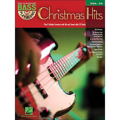 Hal Leonard Christmas Hits - Bass Play-Along Volume 33 Book/CD