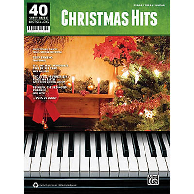 Hal Leonard Christmas Hits 40 Sheet Music Bestsellers Series for Piano/Vocal/Piano