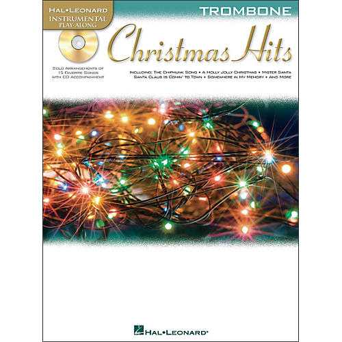 Hal Leonard Christmas Hits for Trombone - Instrumental Play-Along Book/CD Pkg